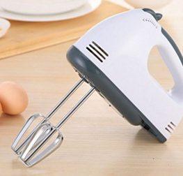 Le batteur électrique facilite les préparations culinaires