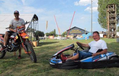 Vingt ans que le karting fait la course en tête des attractions broyardes